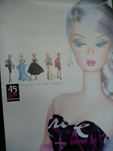2 Barbie Posters  45th Anniversary