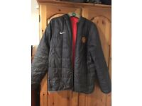 Official Manchester United reversible Coat/Jacket (Medium)