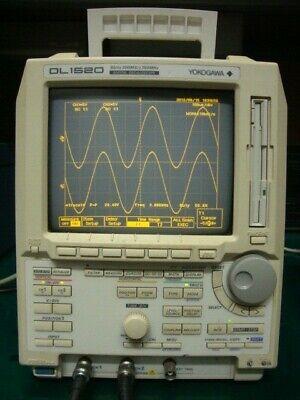 Yokogawa Dl1520 150mhz 2-ch 200mss Digital Oscilloscope With Gpib Interface