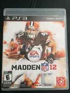 PS3 NFL 12