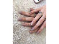 Manicure beauty gel polish acrylic nails