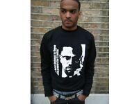 SIZE 3XL Malcolm X Sweatshirt Mens Sweatshirt Black History Christmas Gift
