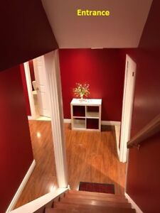 One Furnished Room in Basement for rent to female student