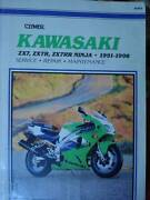 KAWASAKI ZX7, ZX7R, ZX7RR NINJA MOTORCYCLE WORKSHOP MANUAL c 1998 Dianella Stirling Area Preview