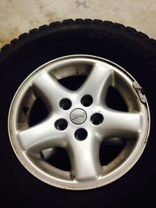 Jeep Wrangler 15 INCH RIMS with tires