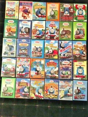 34 Thomas the Tank Engine DVD Movie Series Lot Set Train Christmas Halloween