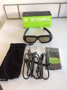 Lunettes 3D vision 2 NVIDIA