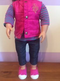 Our Generation - Vest Friends Forever outfit (doll not included)