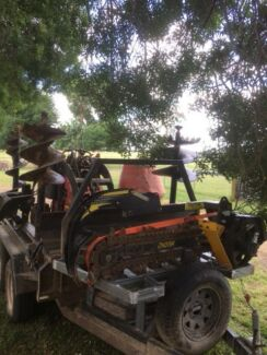 Stolen dingo, attachments and trailer