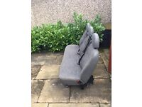 Ford Transit Crew Cab Seats for Sale. Great condition. Collection only. No nuts/bolts