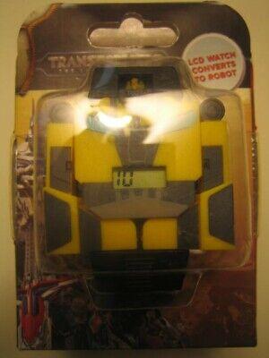 Bumblebee Transformers the Last Knight digital quartz LCD Wristwatch MIB