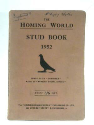 The Homing World Stud Book 1952 (Anon - 1952) (ID:87773)
