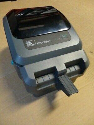 Gebraucht, Zebra GX420D Thermal Barcode Label Printer USB & Serial + CUTTER Wie GK420D  gebraucht kaufen  Versand nach Germany