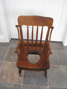 Child's Commode Chair (Bass River Made)