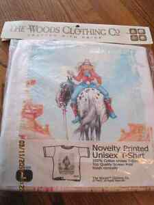 Funny Cowgirl Unisex T-Shirt Size L Sealed in Pkg