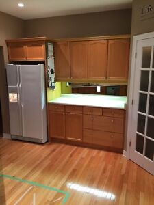 STILL FOR SALE May 4TH!  Kitchen Cabinets For Sale