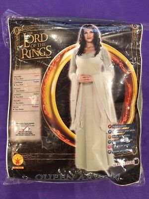 Brand new Lord Of The Rings Deluxe Queen Arwen Adult Costume Standard