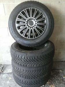 Snow Tires with Rims  / Ultra Grip Windsor Region Ontario image 1
