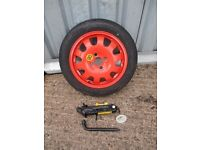 ★ BRAND NEW FORD SPARE WHEEL SPACE SAVER ★FOCUS FIESTA ECT
