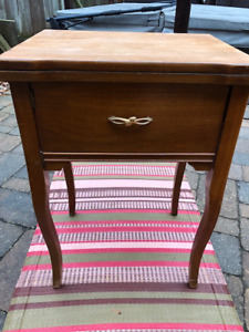 Old Singer Sewing Machine Table