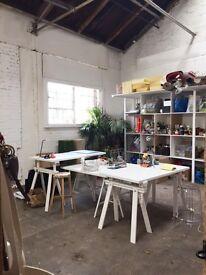 Desk Space at Creative Studio