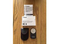 Canon RC-6 wireless IR remote control