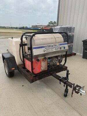 Pressure Washer - Trailer Mounted - 16 Hp