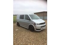 2011 Vw Transporter T5 180 Bhp Sportline style. PRICE REDUCED FOR SALE!