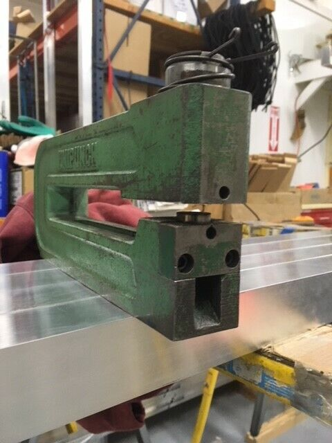 Unipunch 8 inch throat, B series, punch press, unitool punch and die press brake