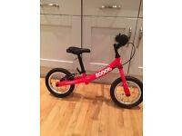 Kids Balance Bike Ridgeback, used Red