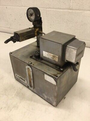 Lube Corp Automatic Lubricator Ami-200s 100v Used Warranty