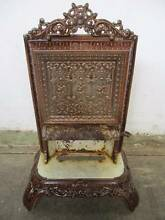C5074 Lovely Antique Victorian Ornate Ceramic Fireplace Mount Barker Mount Barker Area Preview