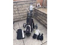 Golf Club Set with Trolley and extras! Bargain at only £50.00