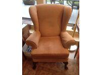 Parker Knoll Penshurst wing chair.