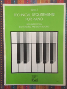 Technical Requirements for Piano Book 2 (Paperback)