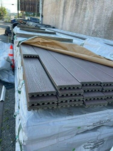 TREX ENHANCE COMPOSITE DECKING 20 FOOT GROOVED