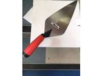 "Beta 18053 11"" Brick Layer Trowel Rubber Handle"