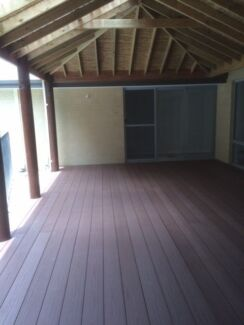 Composite decking and alfresco ceiling lining Wanneroo Wanneroo Area Preview