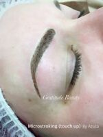 Microblading Eyebrows and Eyeliner tattoo 15% OFF!!