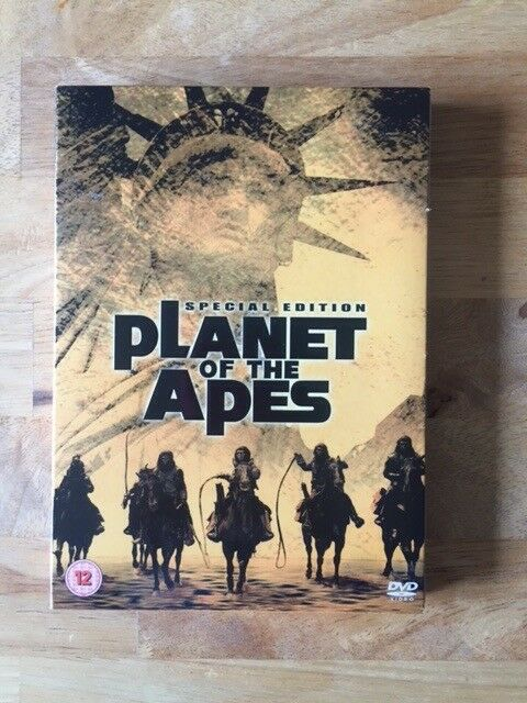 ORIGINAL PLANET OF THE APES DVD 2 DISC V.G.C