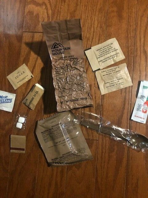 LRRP Long Range Patrol Ration FOOD PACKET Pocket MRE - New Reproduction EDIBLE