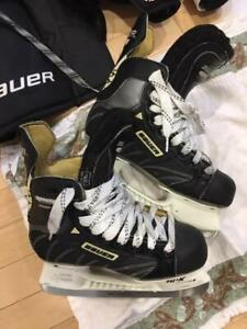 Leather Youth Hockey Skates - Size 4