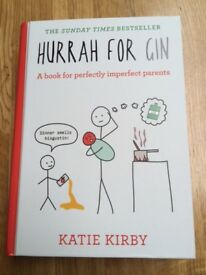 Brand New - Hurrah for Gin (RRP 12.99) for parents/mothers/expectant mums!