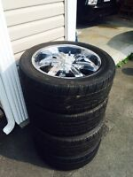 20 IN CHROME RIMS  GREAT CONDITION
