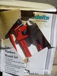 3 Piece Plumbers tool kit Avalon Pittwater Area Preview