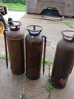 Antique Collectible Fire Extinguisher