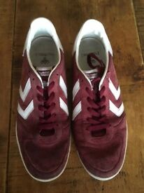 Hummel Trainers - Red - Size 8 in great condition