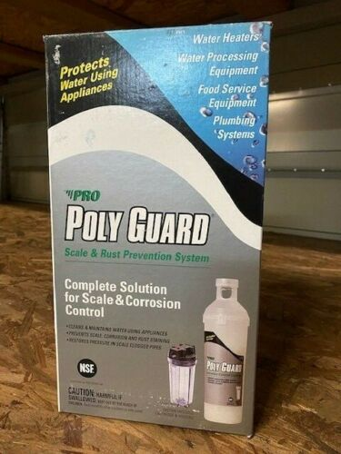 POLY GUARD GP15S Water Solution System,1.5 lb. Size