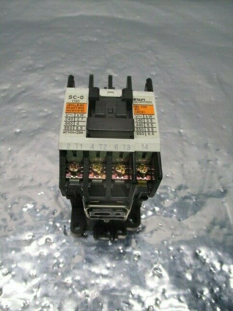 Fuji Electric Type SC-0 Contactor, 4NC0F0, 100594