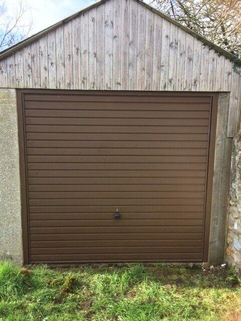 Up And Over Garage Door Brown Excellent Condition 219w X 203w